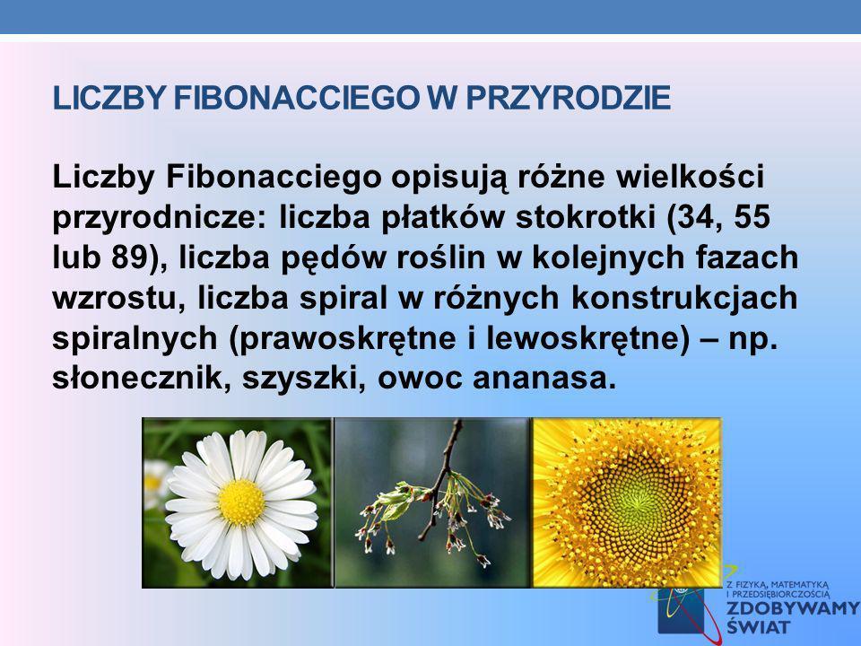 Liczby Fibonacciego w przyrodzie