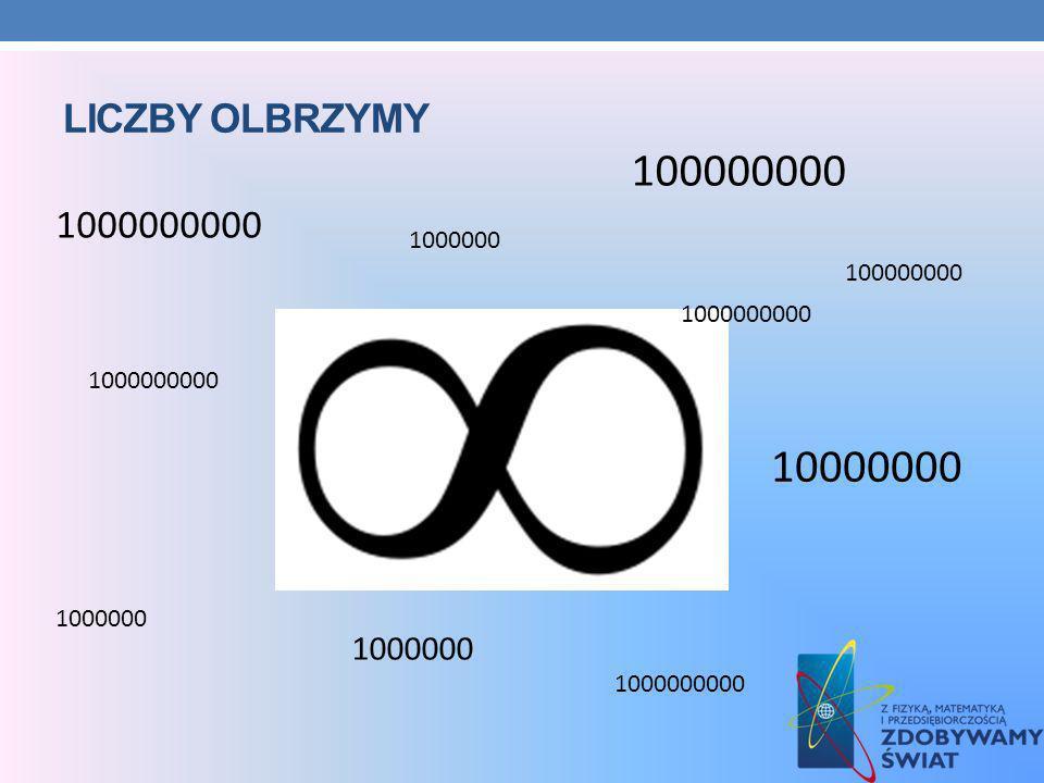 Liczby olbrzymy 100000000. 1000000000. 1000000. 100000000. 1000000000. 1000000000. 10000000. 1000000.