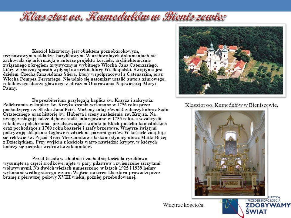 Klasztor oo. Kamedułów w Bieniszewie: