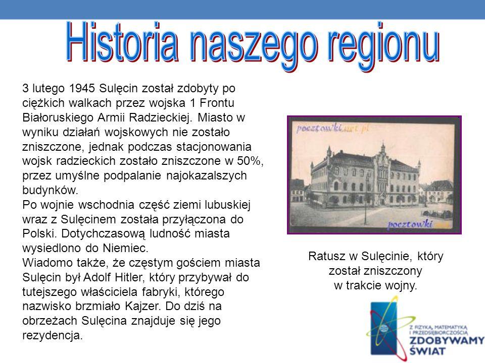 Historia naszego regionu