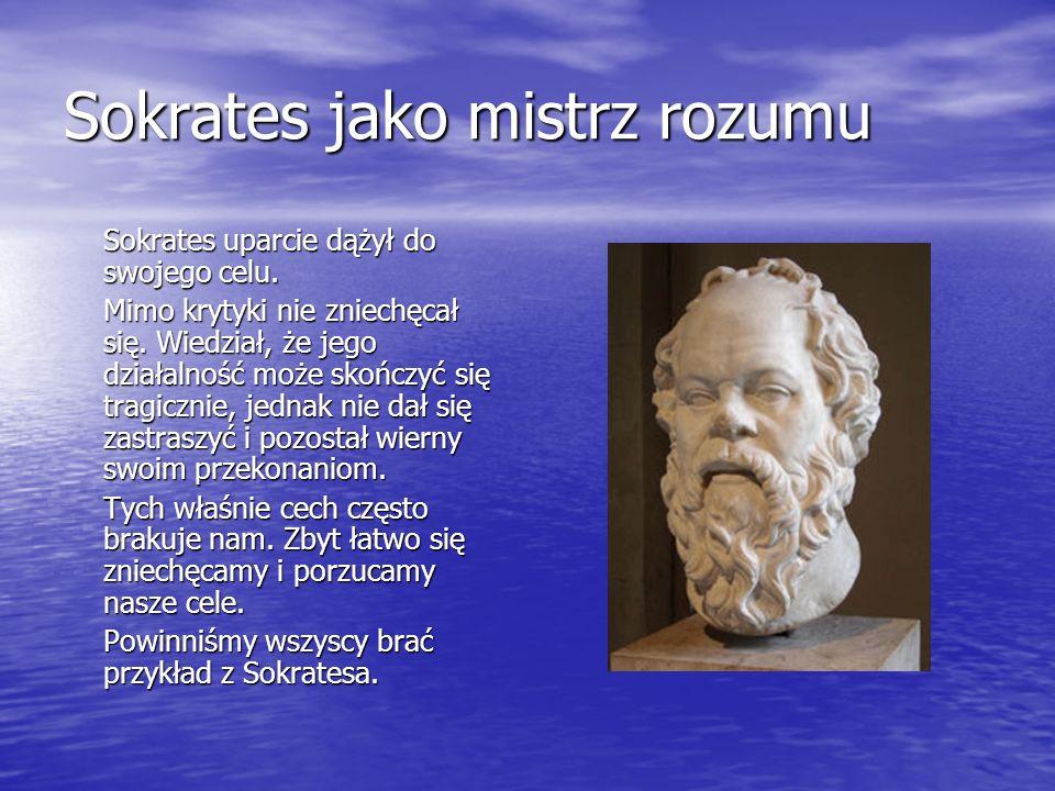 Sokrates jako mistrz rozumu
