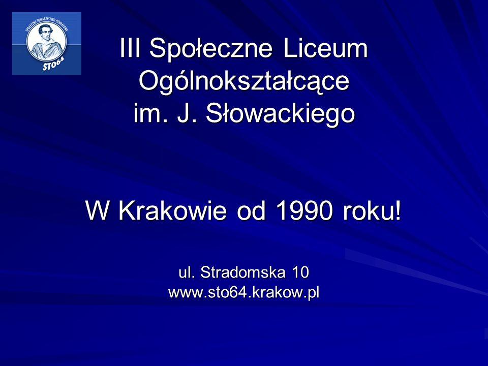 III Społeczne Liceum Ogólnokształcące im. J
