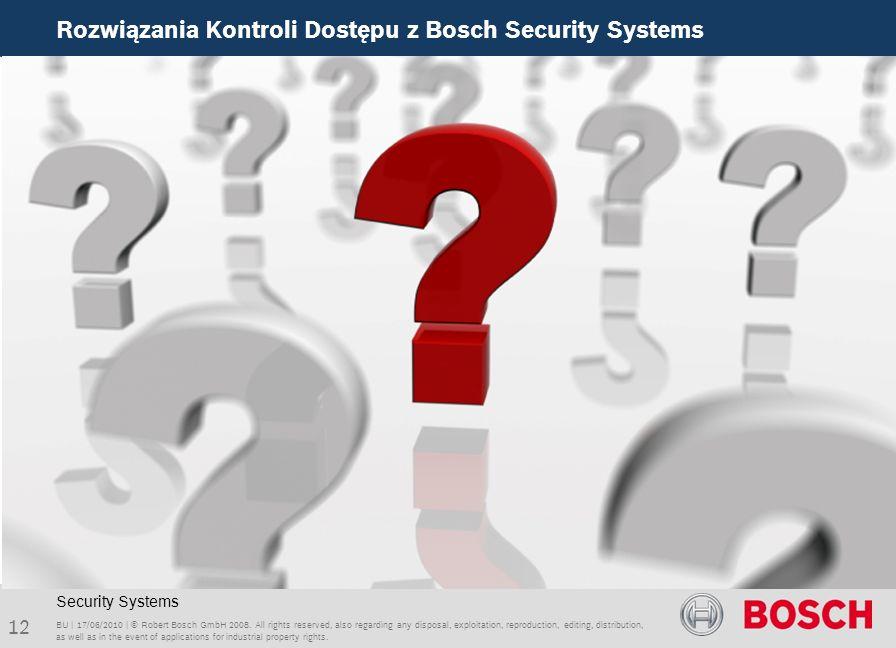 Rozwiązania Kontroli Dostępu z Bosch Security Systems