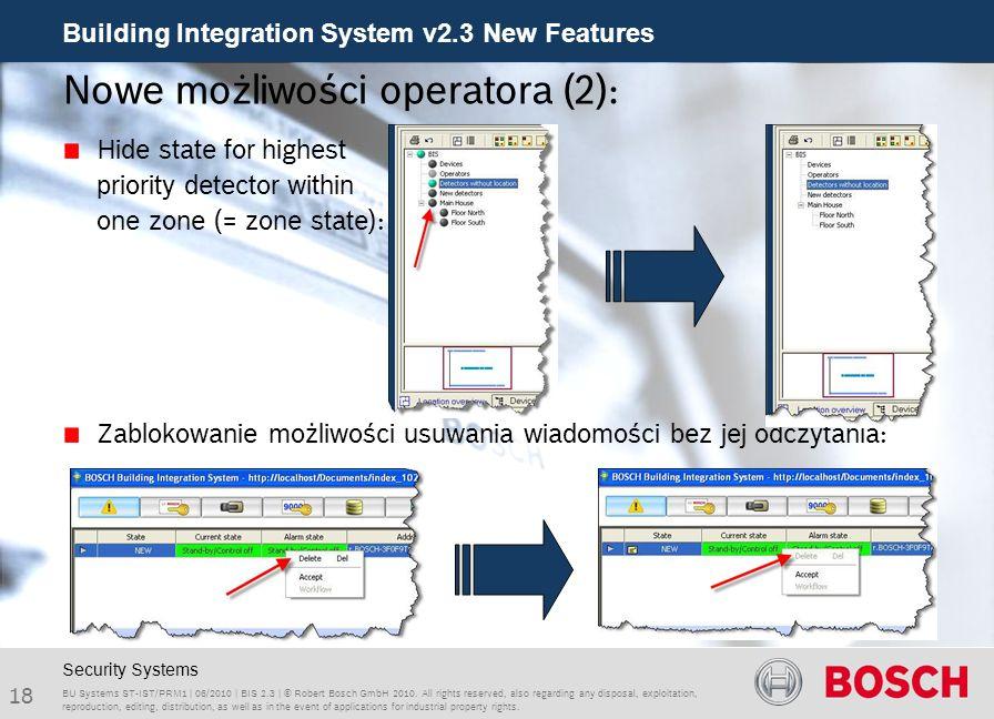 Nowe możliwości operatora (2):
