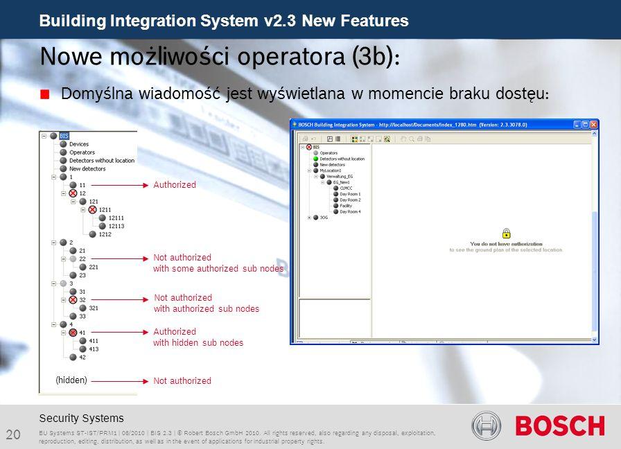 Nowe możliwości operatora (3b):