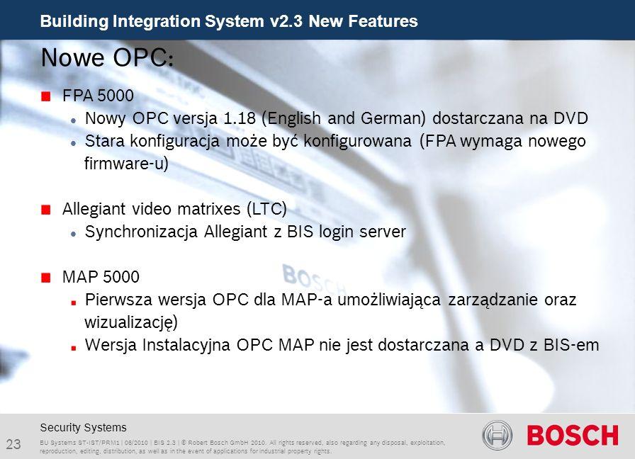 Nowe OPC: FPA 5000. Nowy OPC versja 1.18 (English and German) dostarczana na DVD.