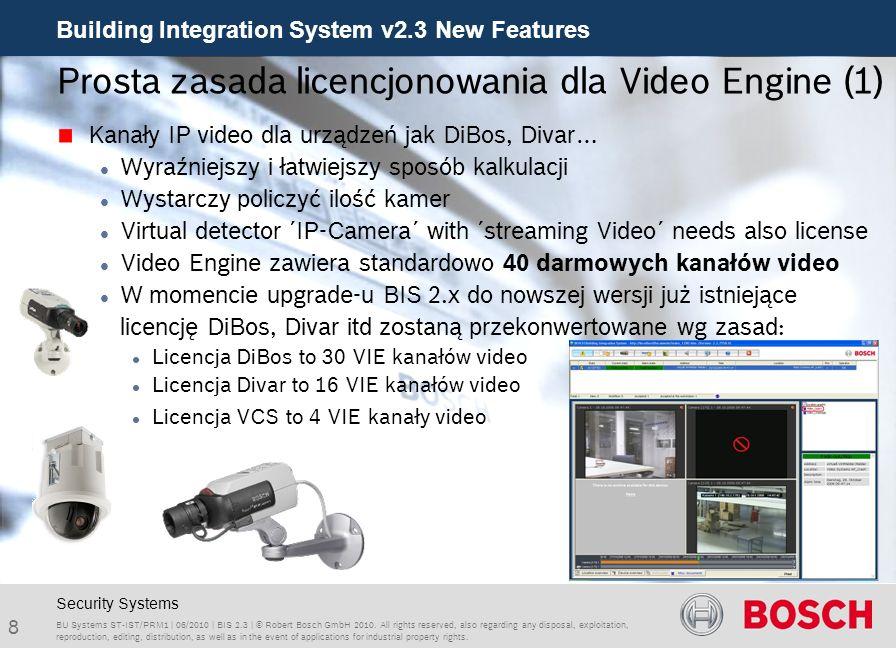 Prosta zasada licencjonowania dla Video Engine (1)