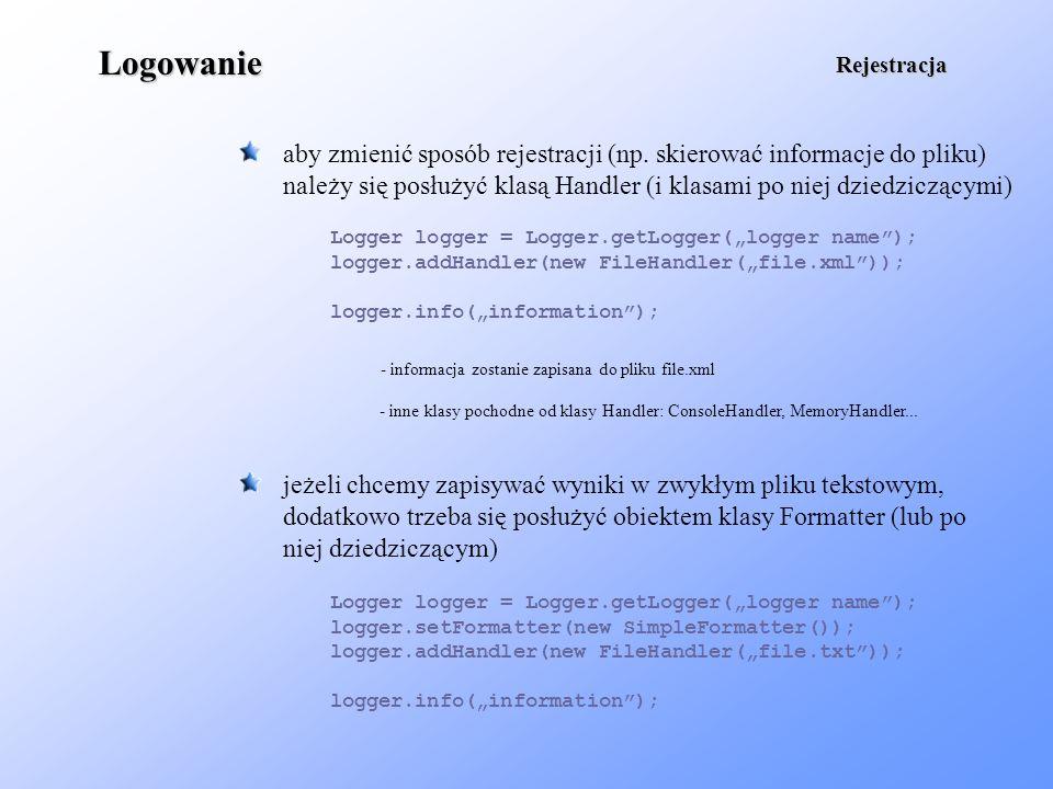 informacja zostanie zapisana do pliku file.xml