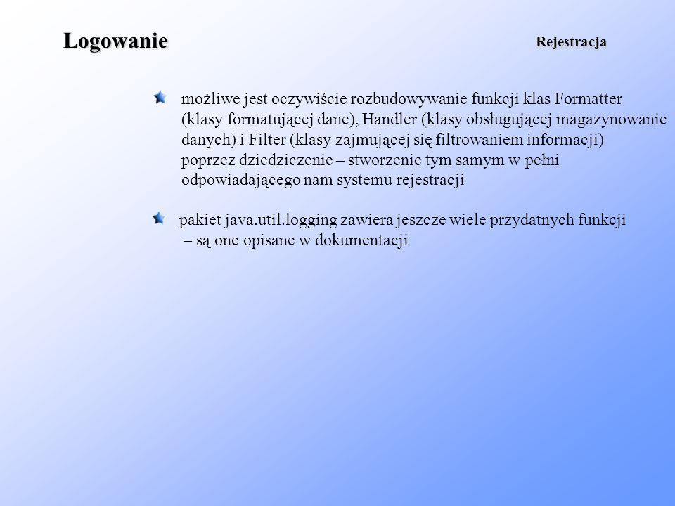 LogowanieRejestracja.