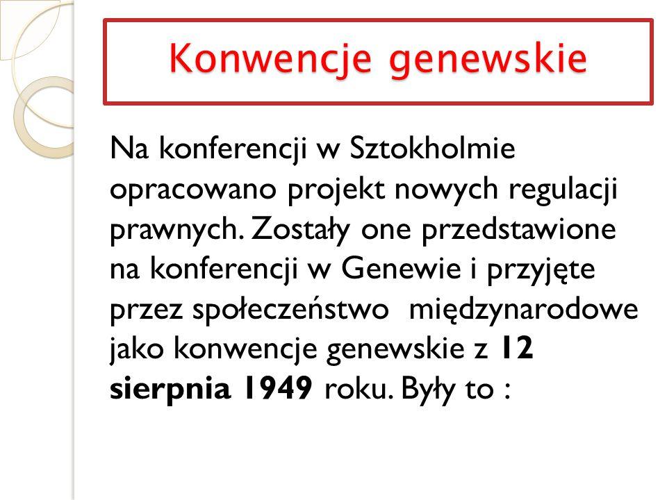 Konwencje genewskie