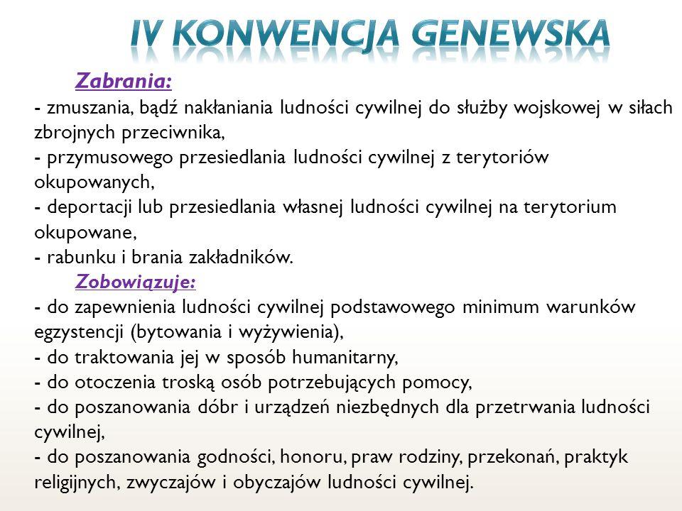 IV konwencja genewska