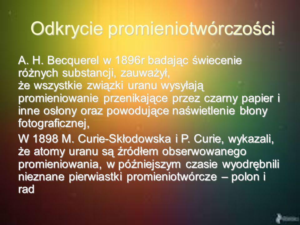 Odkrycie promieniotwórczości