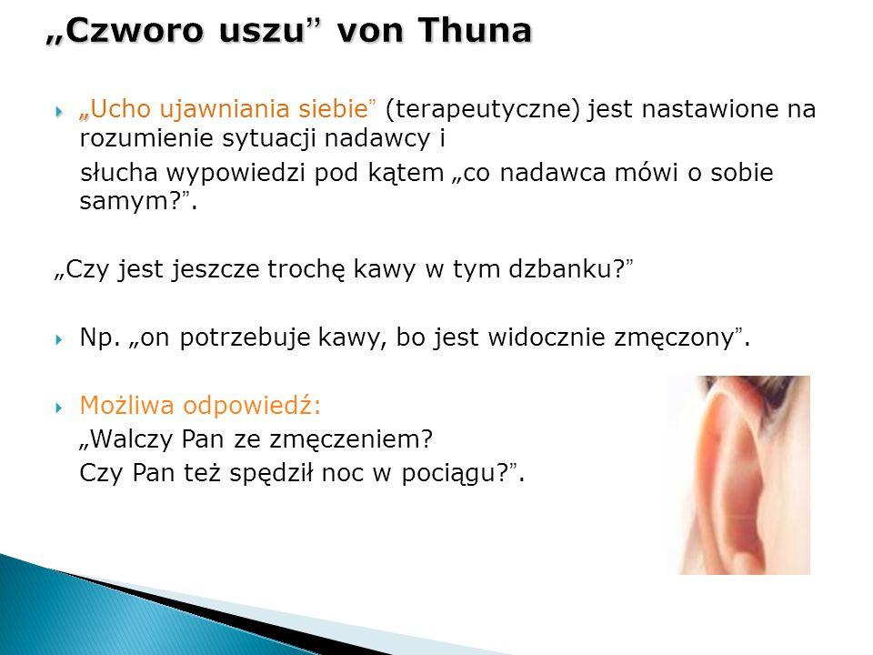 """""""Czworo uszu von Thuna"""
