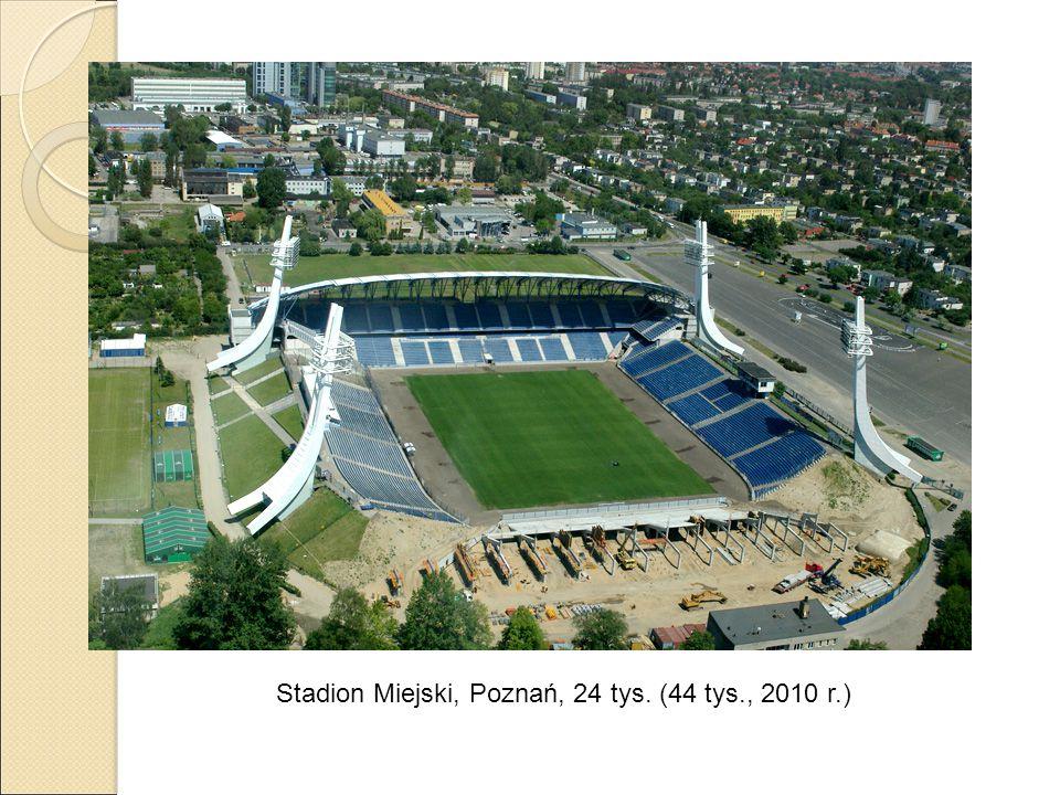 Stadion Miejski, Poznań, 24 tys. (44 tys., 2010 r.)