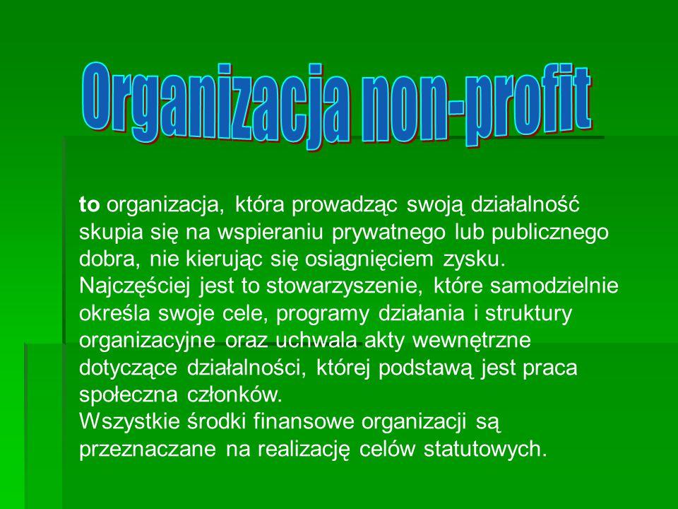 Organizacja non-profit