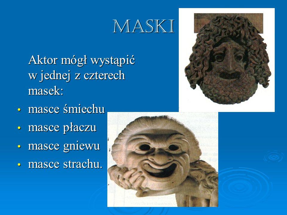MASKI masce śmiechu masce płaczu masce gniewu masce strachu.