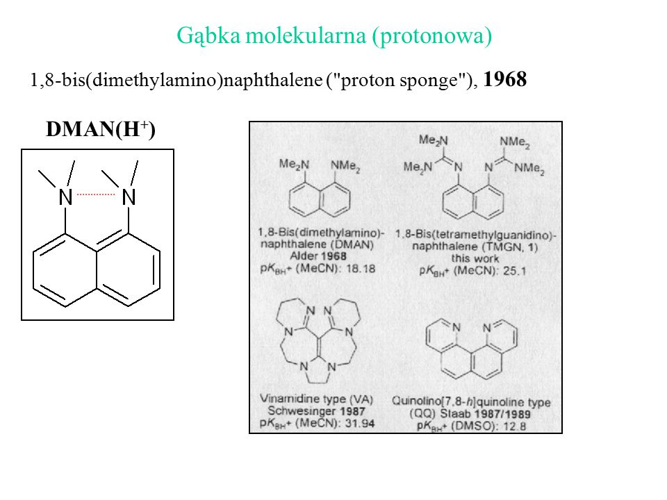 Gąbka molekularna (protonowa)