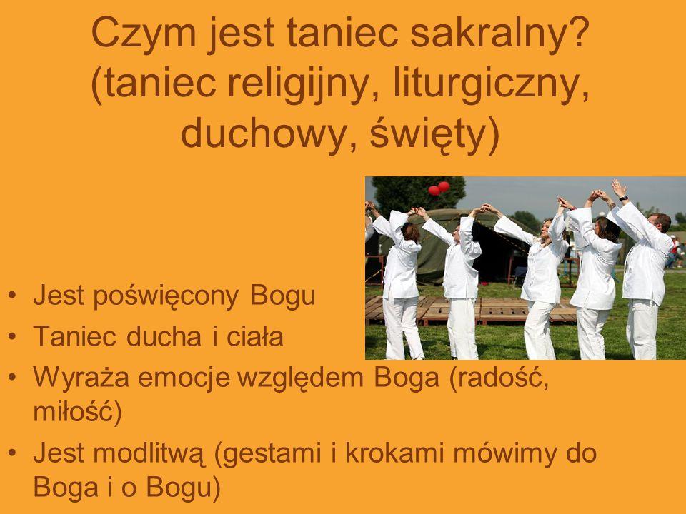 Czym jest taniec sakralny
