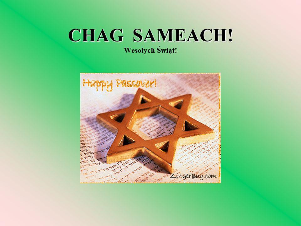 CHAG SAMEACH! Wesołych Świąt!