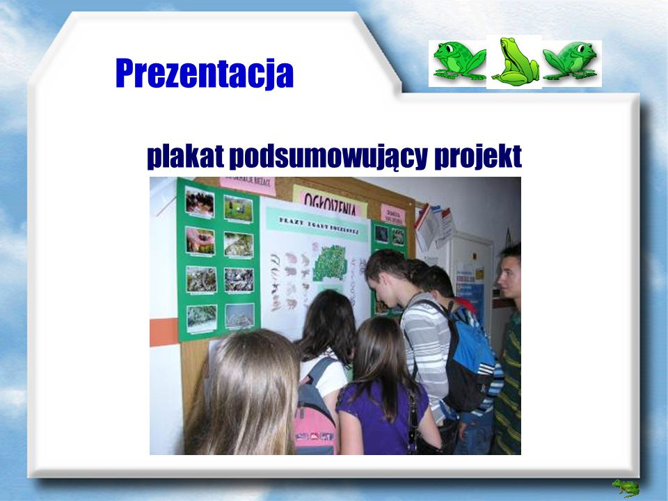 plakat podsumowujący projekt