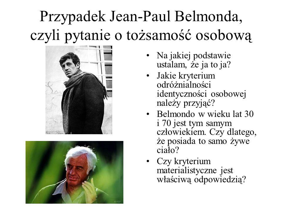 Przypadek Jean-Paul Belmonda, czyli pytanie o tożsamość osobową