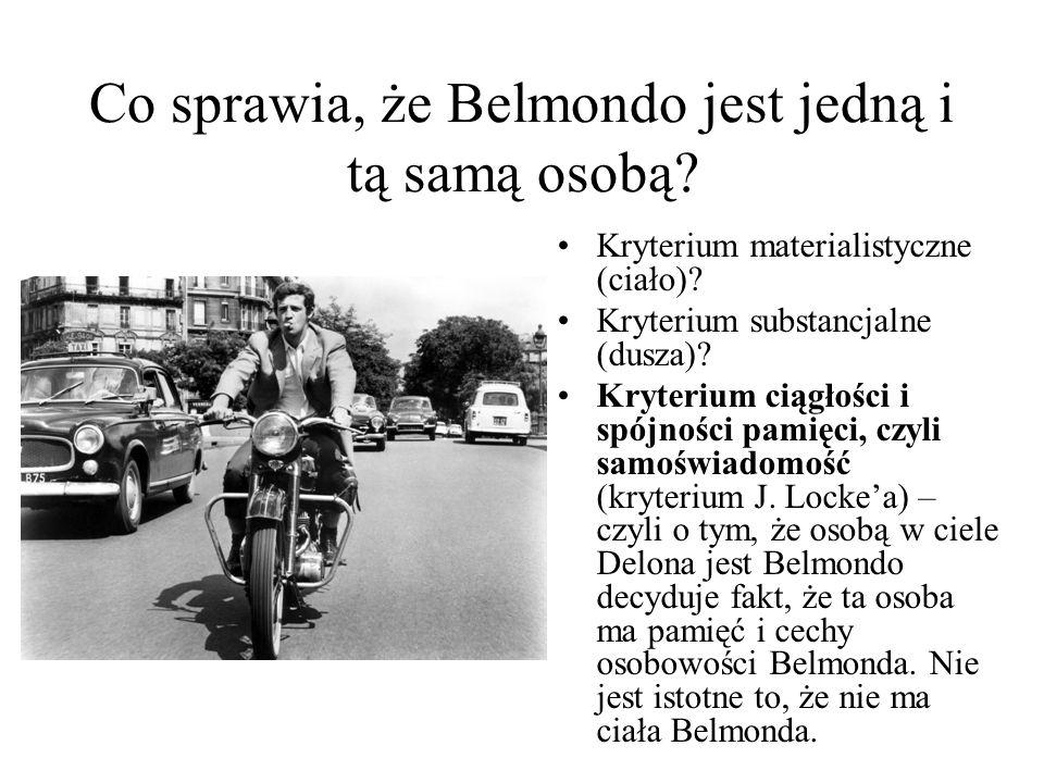 Co sprawia, że Belmondo jest jedną i tą samą osobą