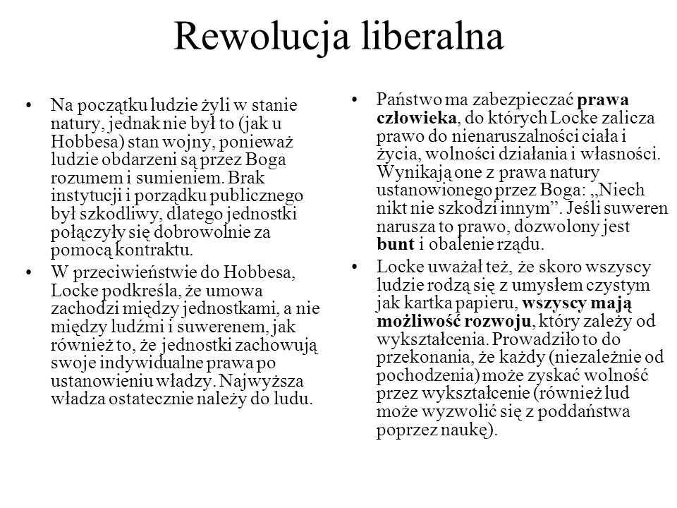 Rewolucja liberalna