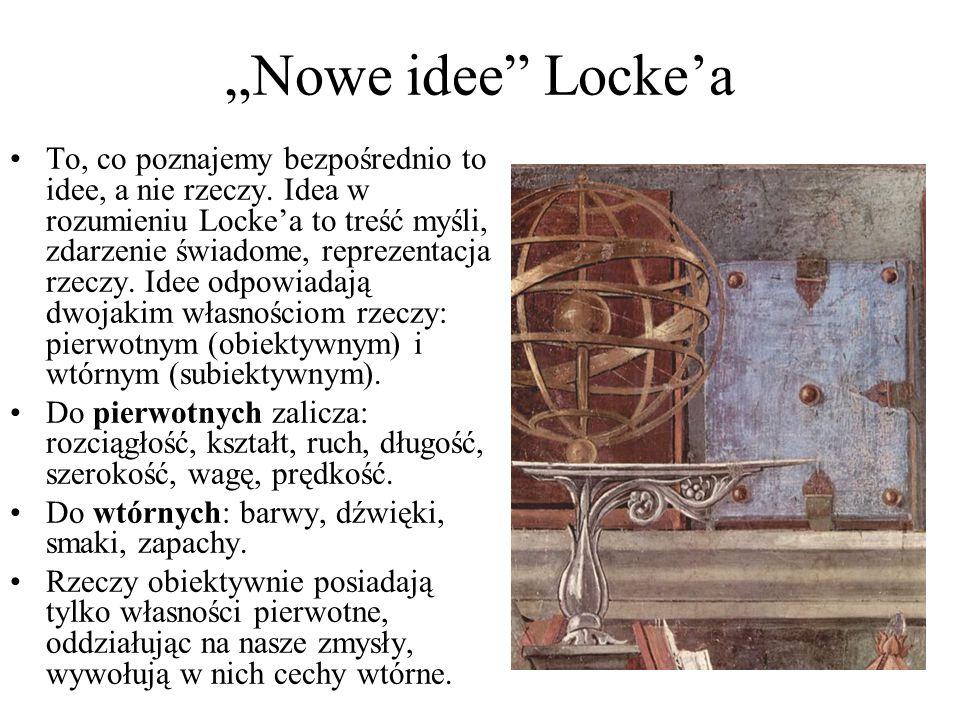 """""""Nowe idee Locke'a"""