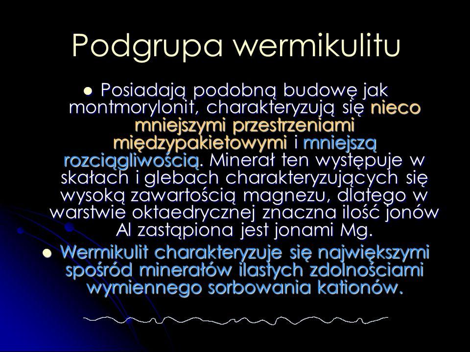 Podgrupa wermikulitu