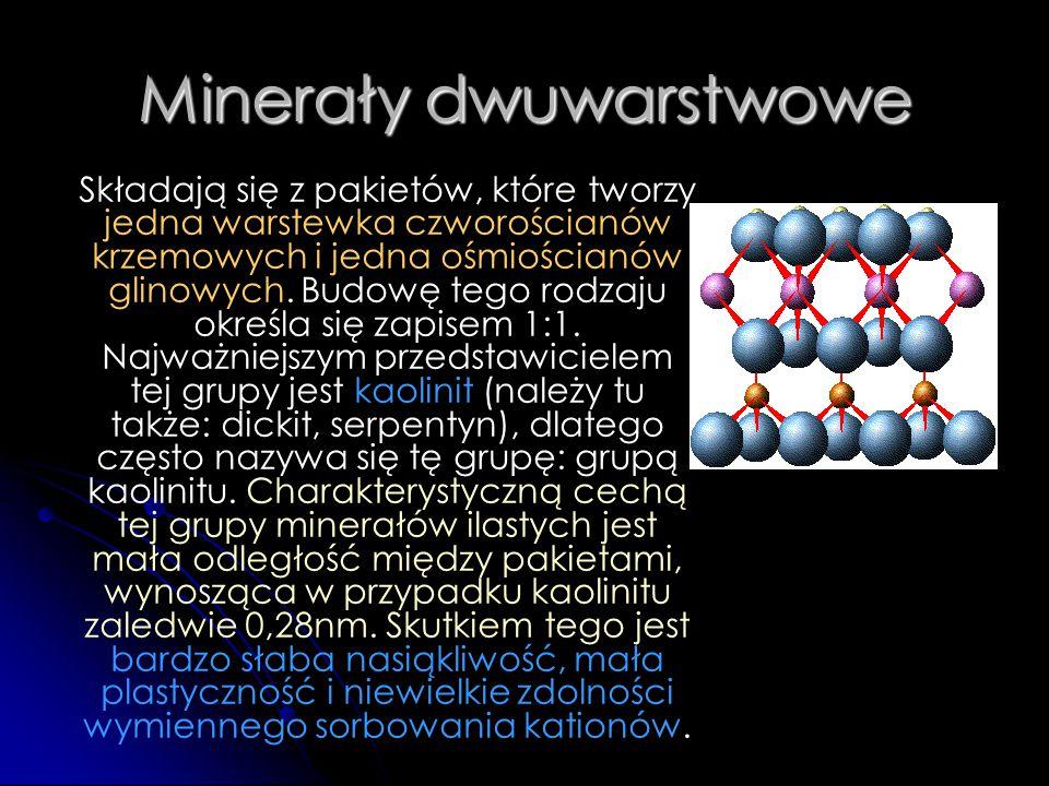 Minerały dwuwarstwowe