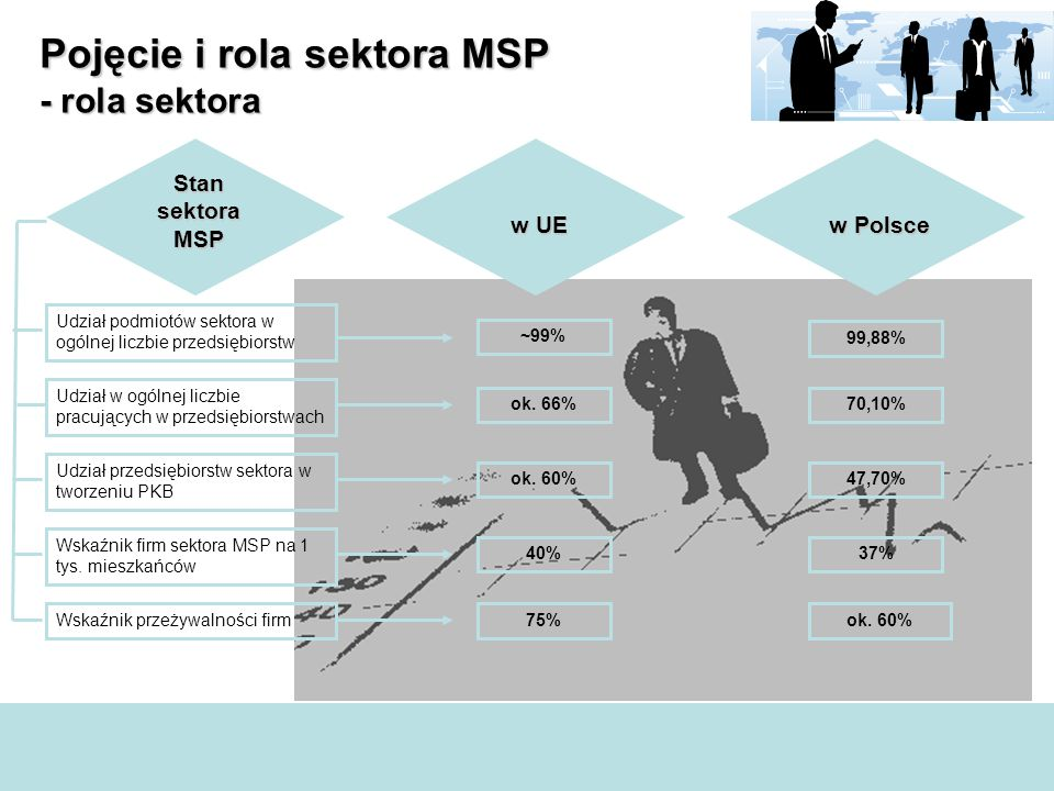 Pojęcie i rola sektora MSP - rola sektora