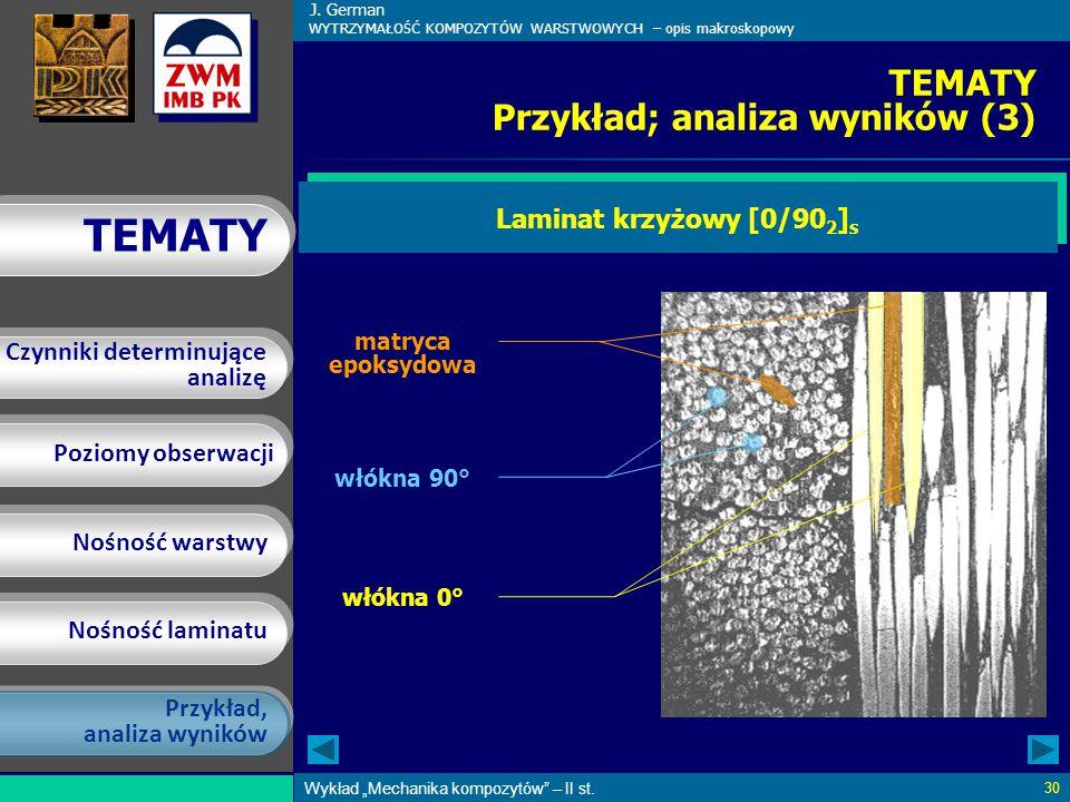 TEMATY Przykład; analiza wyników (3)