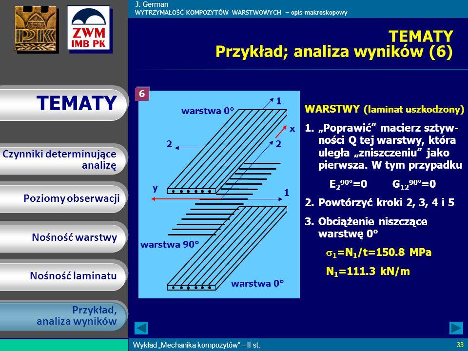 TEMATY Przykład; analiza wyników (6)
