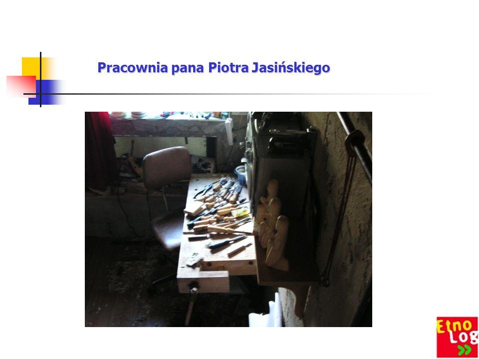 Pracownia pana Piotra Jasińskiego