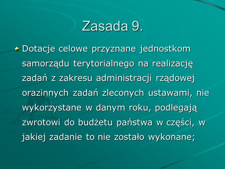 Zasada 9.