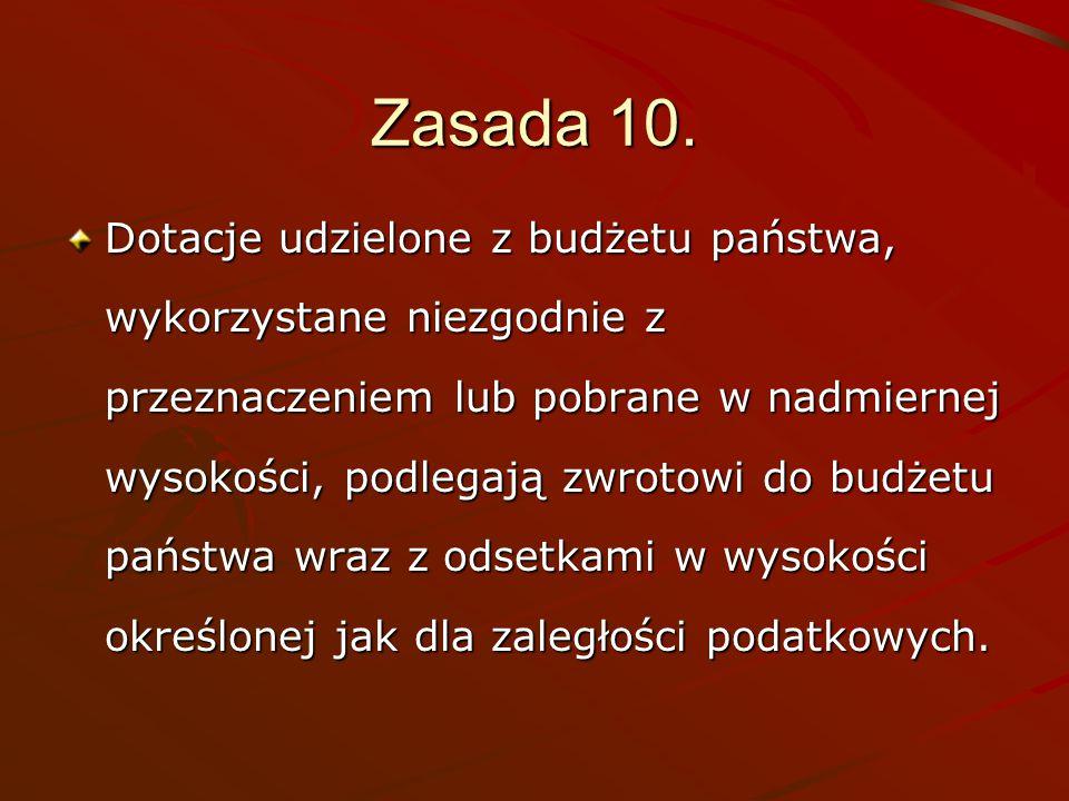 Zasada 10.