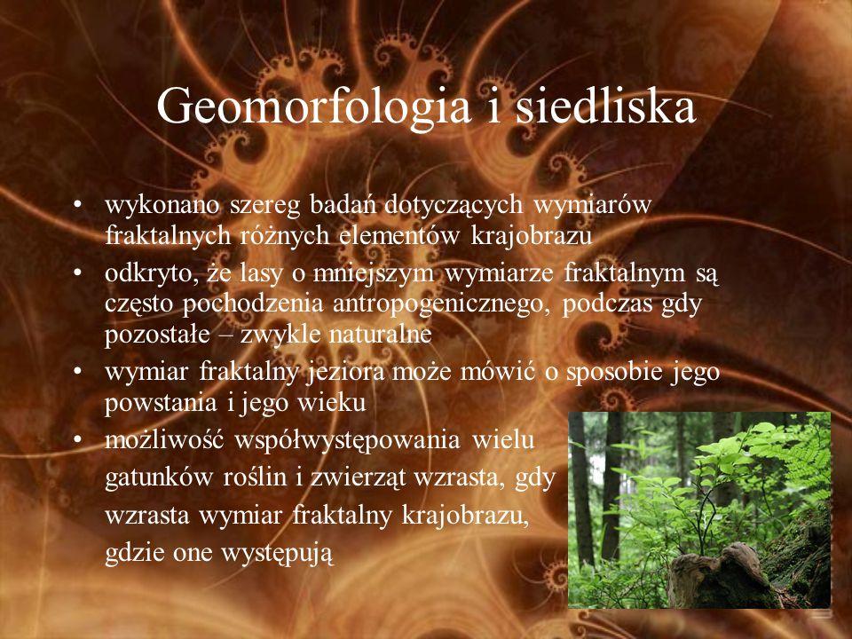 Geomorfologia i siedliska