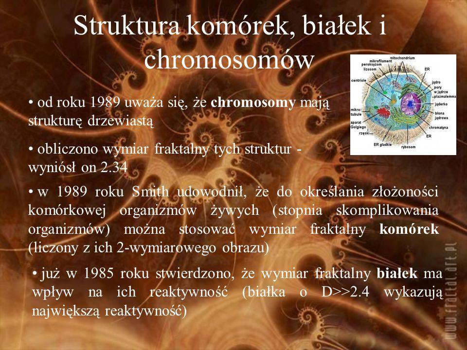 Struktura komórek, białek i chromosomów