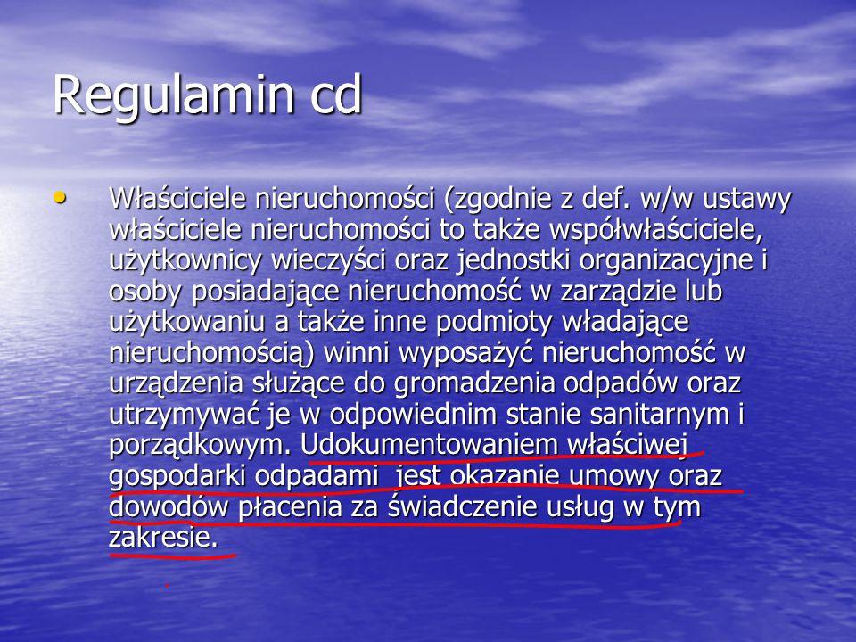 Regulamin cd
