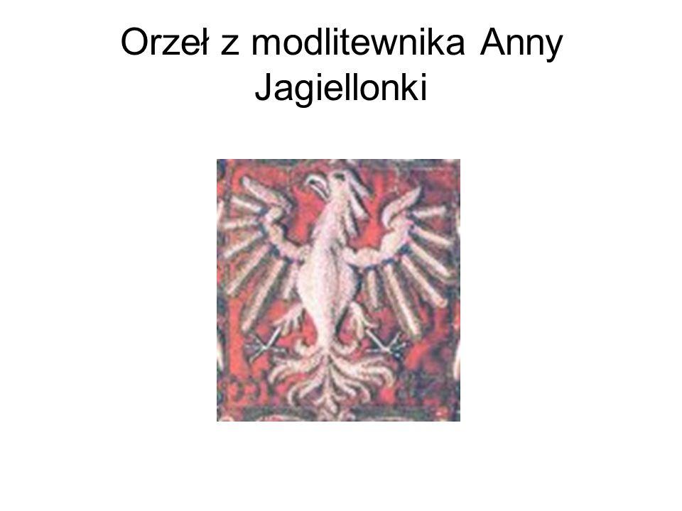 Orzeł z modlitewnika Anny Jagiellonki