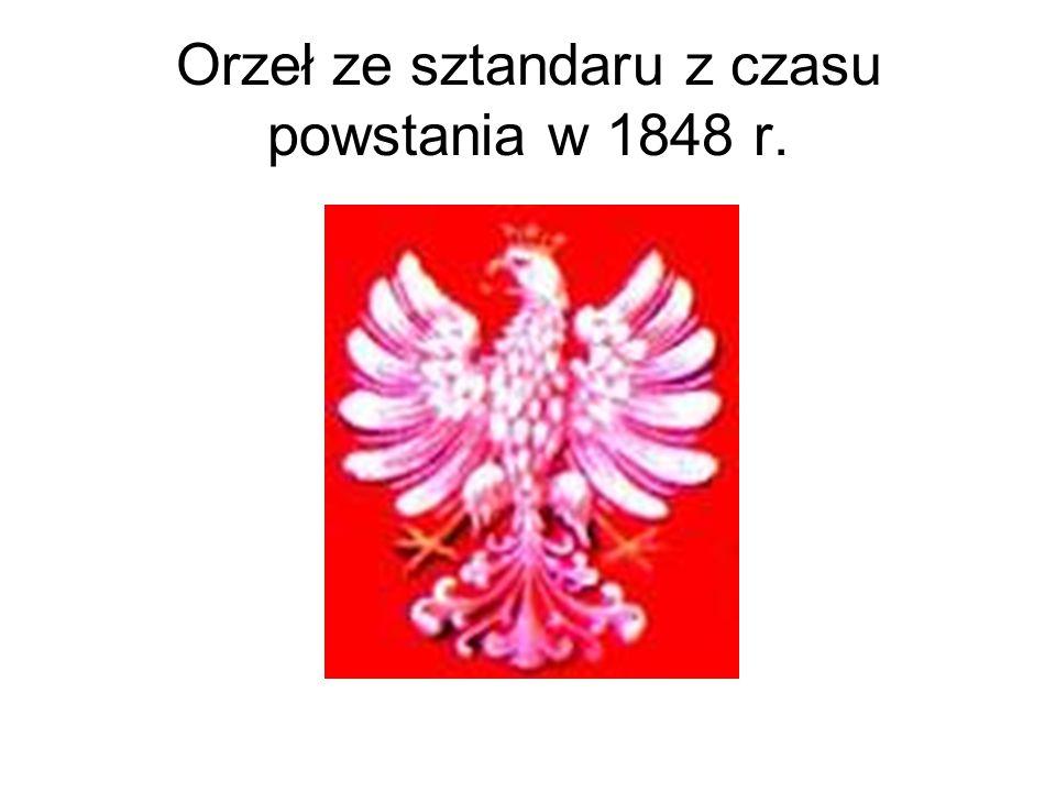 Orzeł ze sztandaru z czasu powstania w 1848 r.
