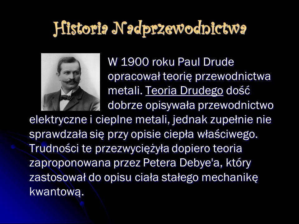 Historia Nadprzewodnictwa
