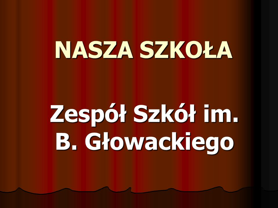 Zespół Szkół im. B. Głowackiego
