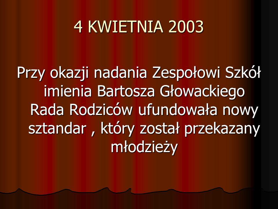 4 KWIETNIA 2003