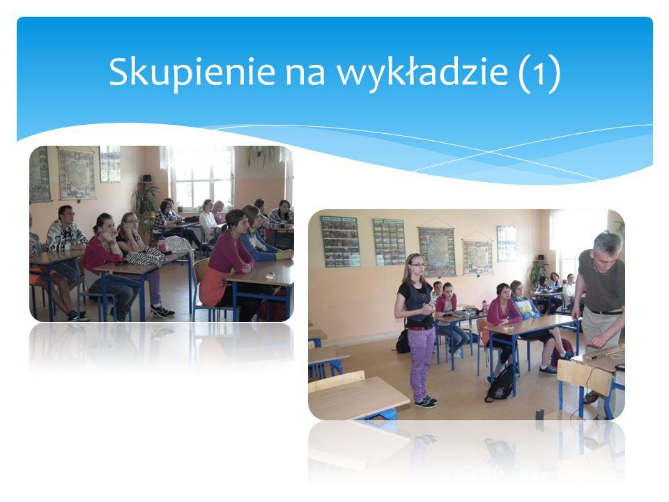 Skupienie na wykładzie (1)