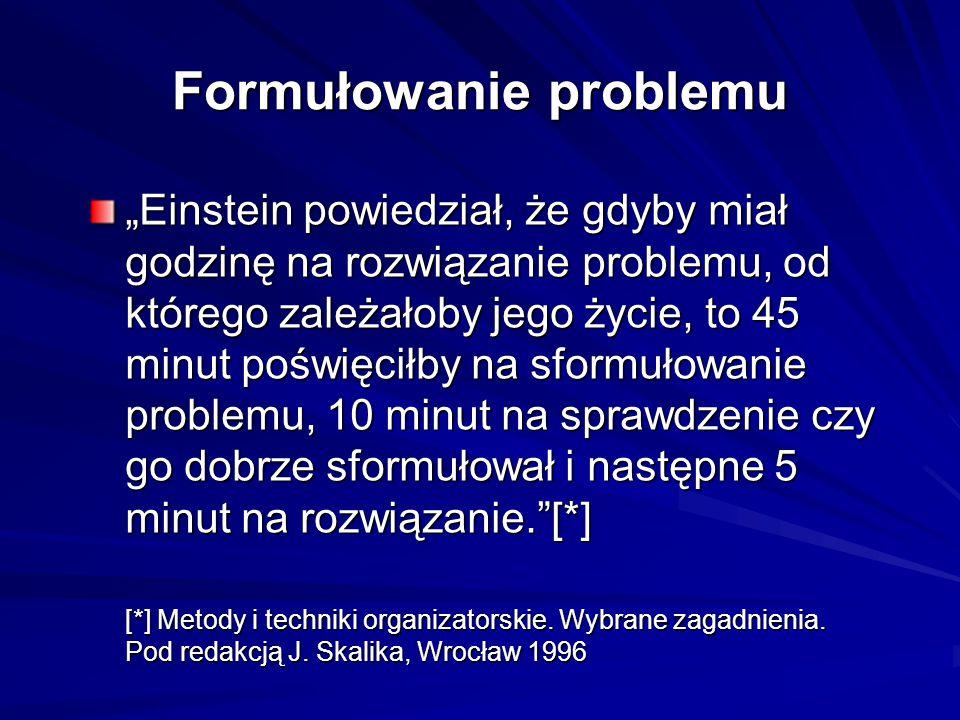 Formułowanie problemu