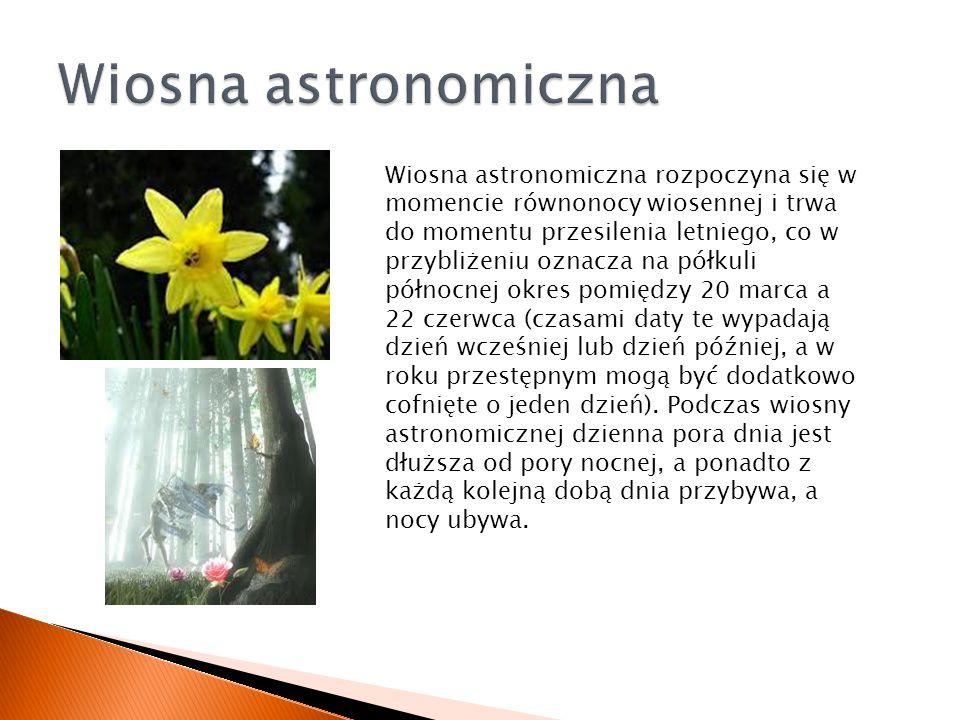 Wiosna astronomiczna