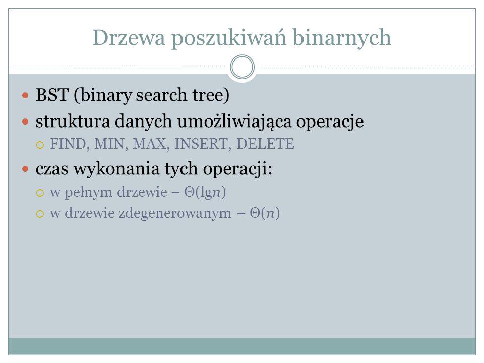 Drzewa poszukiwań binarnych