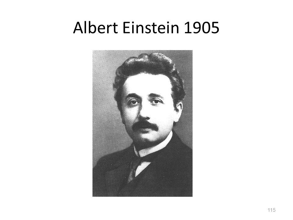 Albert Einstein 1905