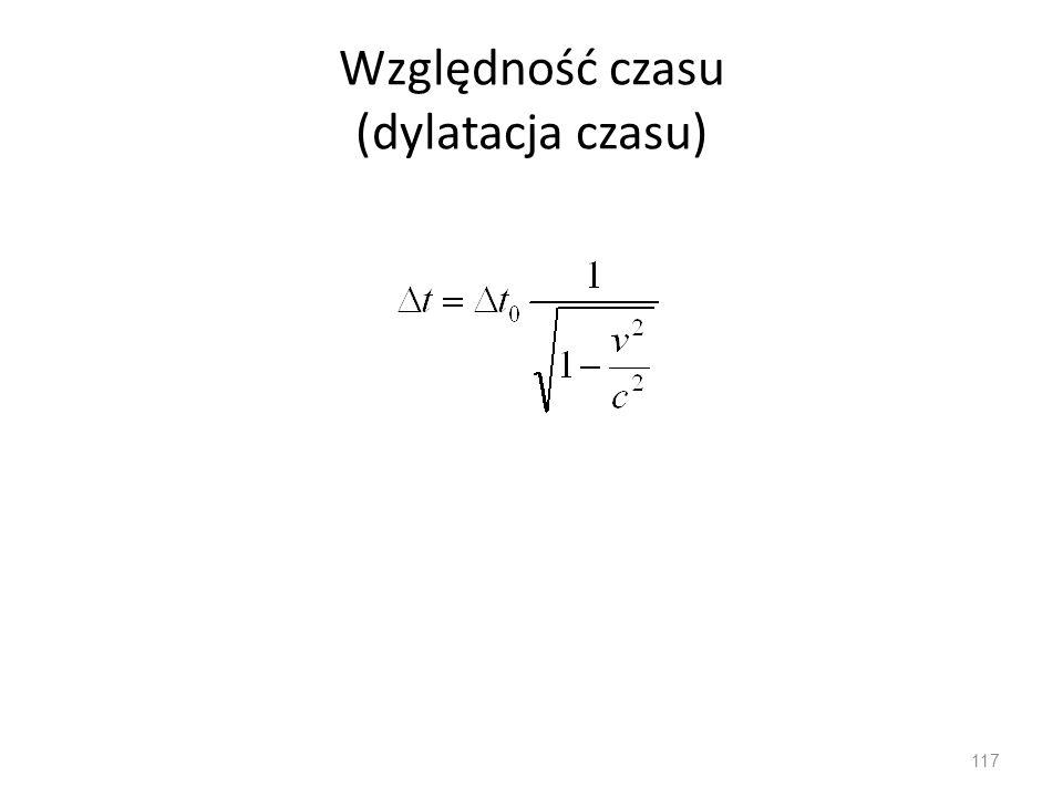 Względność czasu (dylatacja czasu)